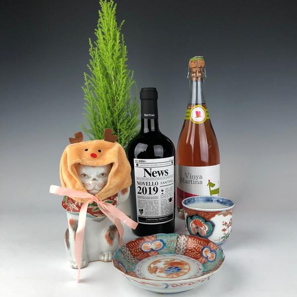 猫若頭とワイン