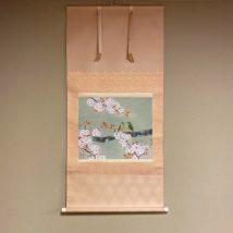<春芳> 桜に小鳥図