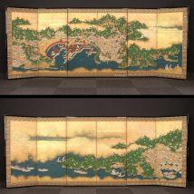 一双 厳島図屏風 17~18世紀