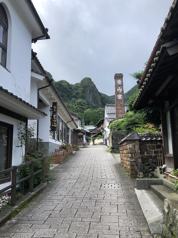 大川内山の町並み