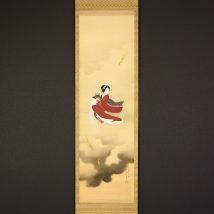 <歌川春光>八重垣姫図 美人画