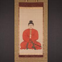 <湯川松堂>大幅 聖徳太子像